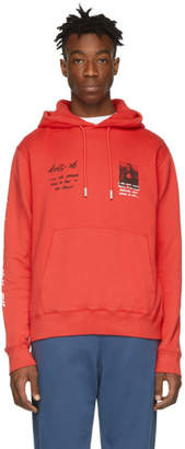 Off-White Off White Red Monalisa Hoodie