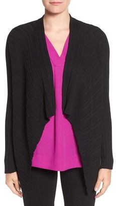Women's Chaus Ribbed Drape Front Cardigan $69 thestylecure.com