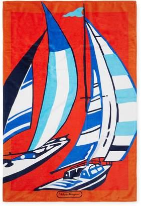 Salvatore Ferragamo Men's Boat Towel