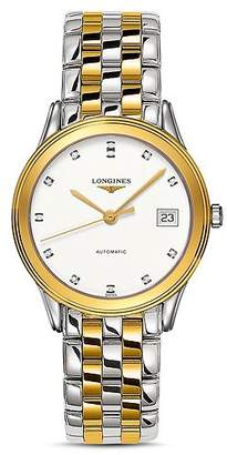 Longines Flagship Diamond Two-Tone Watch, 35.6mm