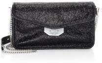 Rag & Bone Field Crinkled Leather Clutch