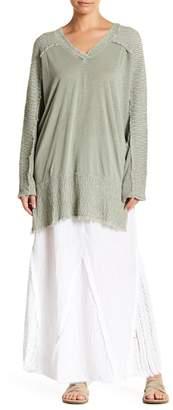 XCVI Kendall Crochet Panel Maxi Skirt