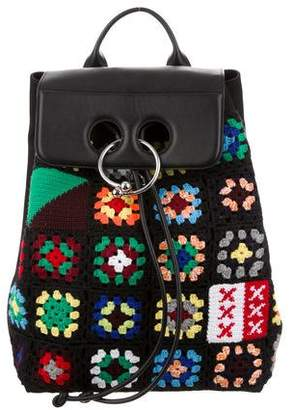 J.W.Anderson Crochet Pierce Backpack