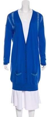 Matthew Williamson Cashmere & Wool-Blend Long Cardigan