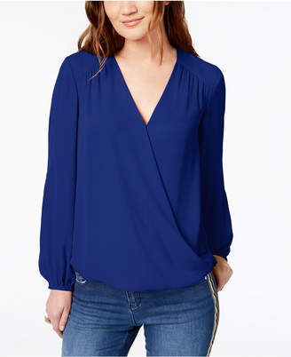 INC International Concepts I.n.c. Surplice Top