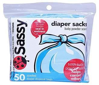 Sassy Disposable Diaper Sacks, 50 Count