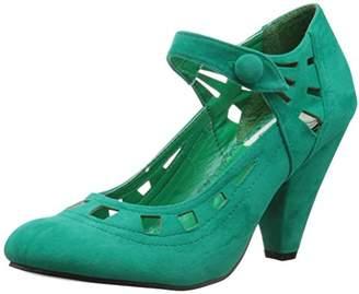Bettie Page Women's BP403-Everly Dress Pump