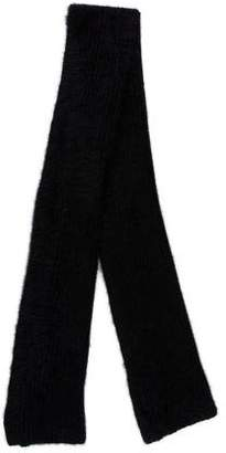 Helmut Lang Knit Mohair Scarf