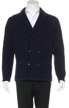 Jack Spade Wool-Blend Double-Breasted Jacket