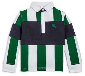 Burberry Boys' Color-Block Stripe Shirt - Little Kid, Big Kid