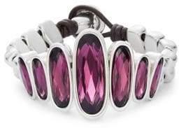 Uno de 50 Crystal and Amethyst Bracelet