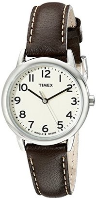 Timex Women's TW2P595009J Main Street Stainless Steel Watch with Brown Leather Band $47.95 thestylecure.com
