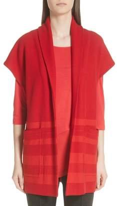 St. John Shawl Collar Knit Jacket