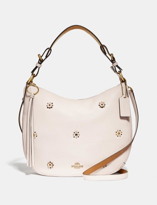 Coach Sutton Hobo With Scattered Rivets