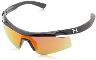 Under Armour Dynamo Youth Shiny Black with Charcoal Gray Frame