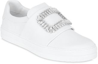25mm Sneaky Viv Leather Sneakers $1,325 thestylecure.com