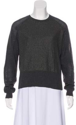 AllSaints Trelone Jumper Metallic Sweater