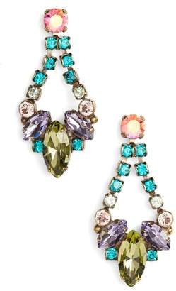 Sorrelli Noveau Navette Crystal Drop Earrings