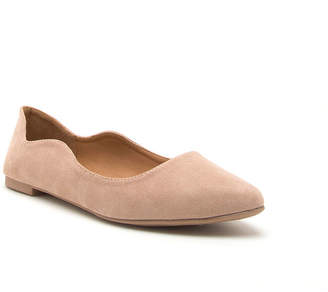 Qupid Swirl-143 Womens Ballet Flats Slip-on Closed Toe