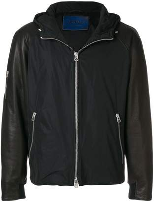Drome zip hooded jacket