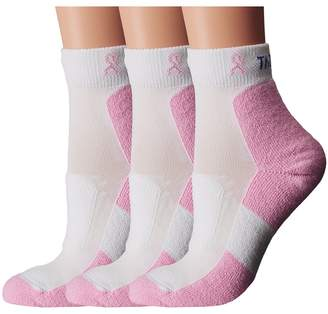 Thorlos Everyday Walker Mini Crew 3-Pair Pack Women's Quarter Length Socks Shoes