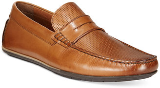 Alfani Men's Will Perforated Penny Driver, Only at Macy's $79.99 thestylecure.com