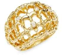 Temple St. Clair Tol 18K Yellow Gold Bombe Bird