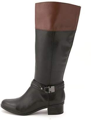 Bandolino Women's Tall Shaft Riding Boot with Hardware at Ankle