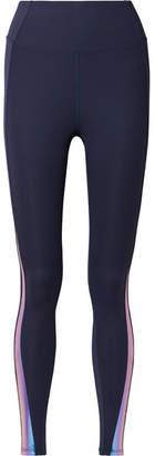 Heroine Sport - Eclipse Iridescent Stretch Leggings - Navy