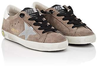 Golden Goose Kids' Superstar Suede Sneakers