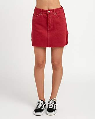 RVCA Junior's Hunn Neo Mini Skirt