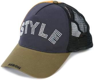 Heron Preston Style embellished baseball cap