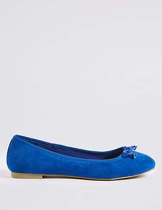 M&S Collection Bow Ballerina Pumps