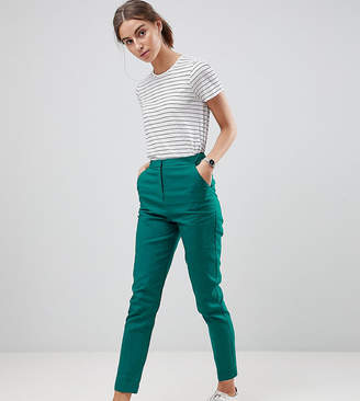 Asos Tall Tailored Linen Cigarette Pants