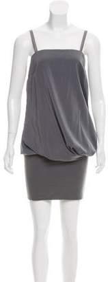 Brunello Cucinelli Sleeveless Knee-Length Dress