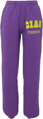Fiorucci Ciao Purple Sweatpants