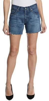 PRPS El Camino Cutoff Denim Boyfriend Shorts
