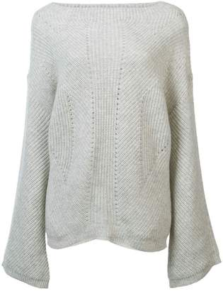 Nili Lotan ribbed knit sweater