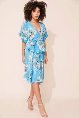 Yumi Kim Thats A Wrap Silk Top