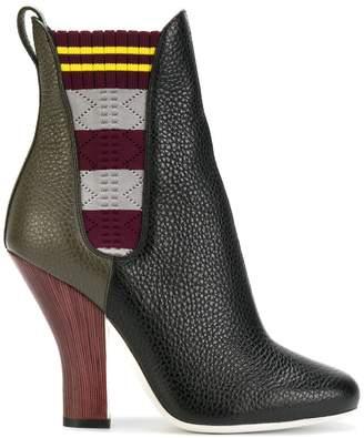 Fendi colour-block boots
