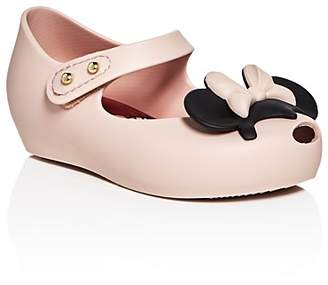 Mini Melissa Girls' Mini Ultragirl Disney Twins Mary Jane Flats - Walker, Toddler $65 thestylecure.com