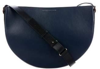 Victoria Beckham Small Halfmoon Leather Bag