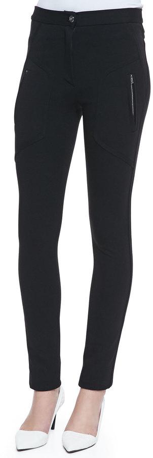 IRO Arlyn Ponte Side-Zip Pants