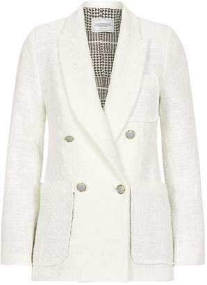 Couture Forte Double-Breasted Boucle Jacket