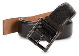 Armani Collezioni Textured Leather Belt