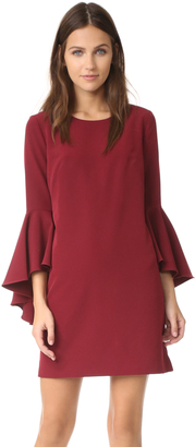 Milly Cady Bell Sleeve Dress $425 thestylecure.com