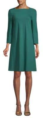 Lafayette 148 New York Boatneck Fit-&-Flare Dress