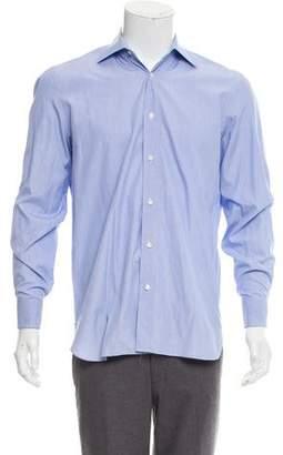 Borrelli French Cuff Dress Shirt