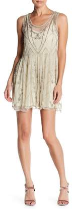 Raga Stawflower Beaded Dress