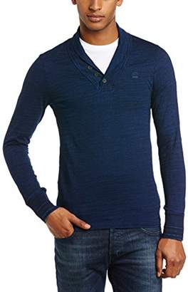 G Star G-Star Men's Ezra Round Neck Long Sleeve T-Shirt